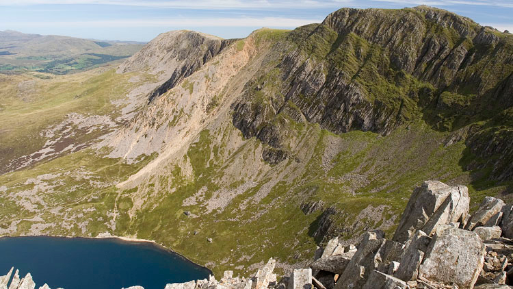 Cadair Idris, the middle mountain of the Welsh Three Peaks