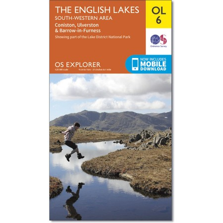 OS Explorer OL6, The Lake District South Western