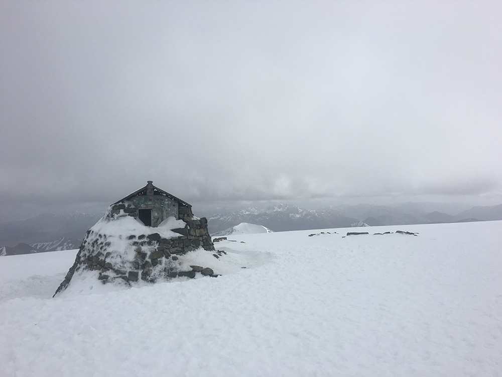 Ben Nevis summit, May 2016