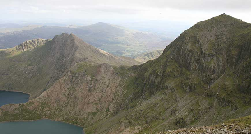 Snowdon is usually the final peak of the National Three Peaks Challenge